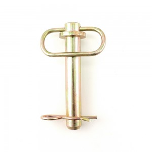 Hitch pin with hair pin