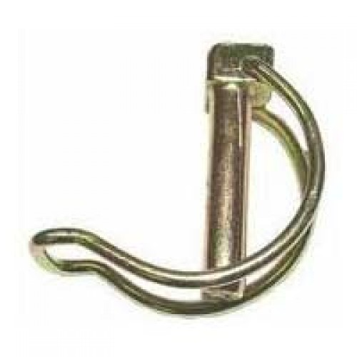 Linch pin for tube square headed