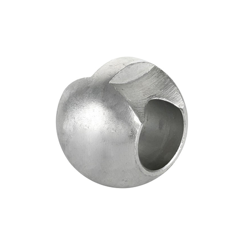 Ball with cut